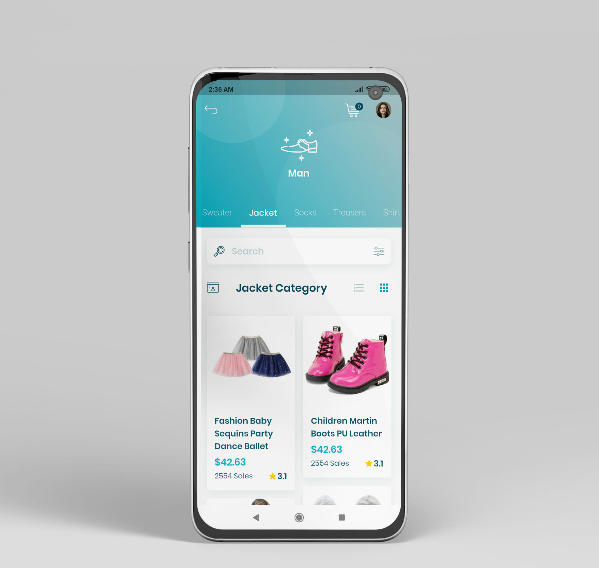 e commerce flutter app ui kit16