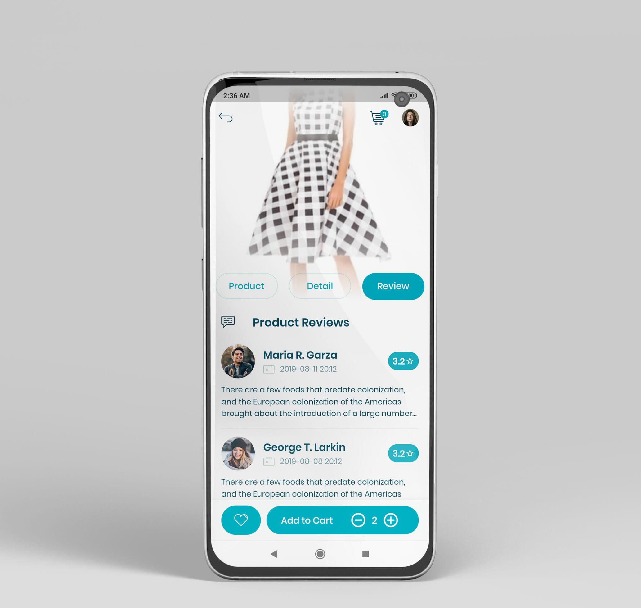 e commerce flutter app ui kit21