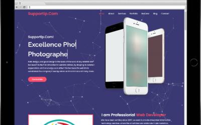 تصميم بروفايل مجانا – التميز لتصميم المواقع وتقنية المعلومات